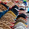 Goods for sale at the Khojand Bazaar