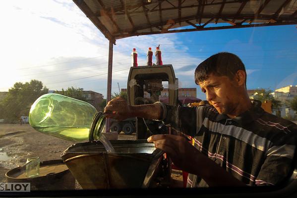tajikistan pamirs benzine