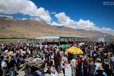 ishkashim border and bazaar