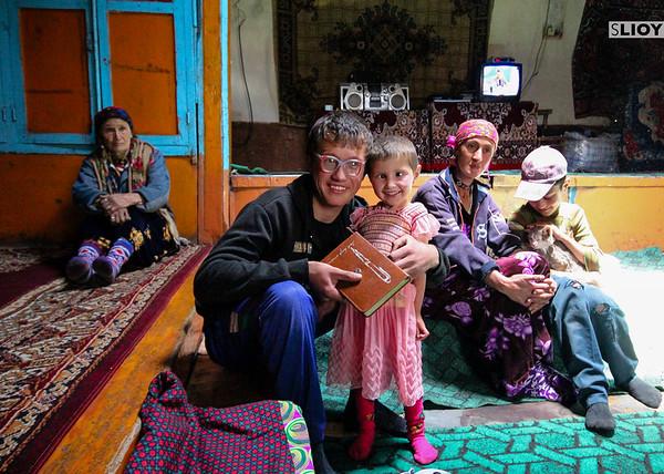 Family portrait in the Wakhan Corridor