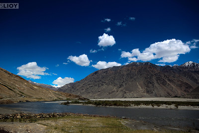 wakhan river at shirgin