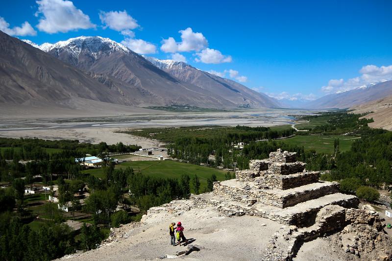 Vrang fire temple in the Tajik Wakhan.