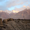 Yamchun Fortress high above the Tajik Wakhan.
