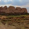 Kyzyl Qala Ruins in Khorezm Uzbekistan's Elliq Qala.
