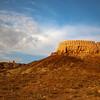 Large Ayaz Qala Fortress in Khorezm Uzbekistan's Elliq Qala.