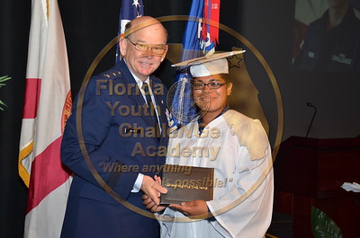 Class 24, Florida Youth ChalleNGe Academy graduate after 5 1/2 months. The Class started in January with 191 and graduated 155 cadets.