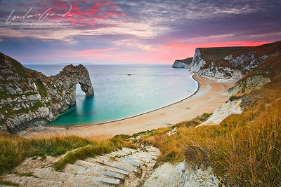 durdle door, dorset, uk