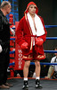 (3.10.2006 --- Desert Diamond Casino)  Juan Garcia before his bout with Raul Montes.
