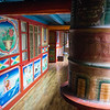 Inside a Tibetan home in Sichuan China's Jiuzhaigou National Park.