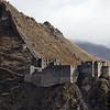 The ruins of Chingwa Tagtse Dzong outside the city of Tsetang in Lhoka Prefecture of Tibet.