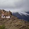 Hilltop Rechung Puk Monastery in Lhoka Prefecture of Tibet.