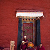 Monks at Talung Monastery in the U region of Tibet.