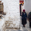 Villagers circumambulate the Buchu Temple near the town of Nyingchi in Eastern Tibet.