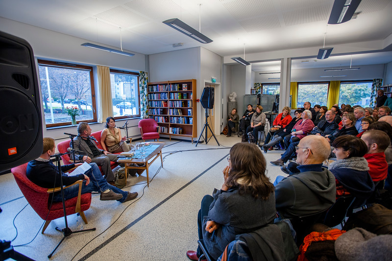 Frode Molven, Tomas Espedal & Vigdis Hjorth