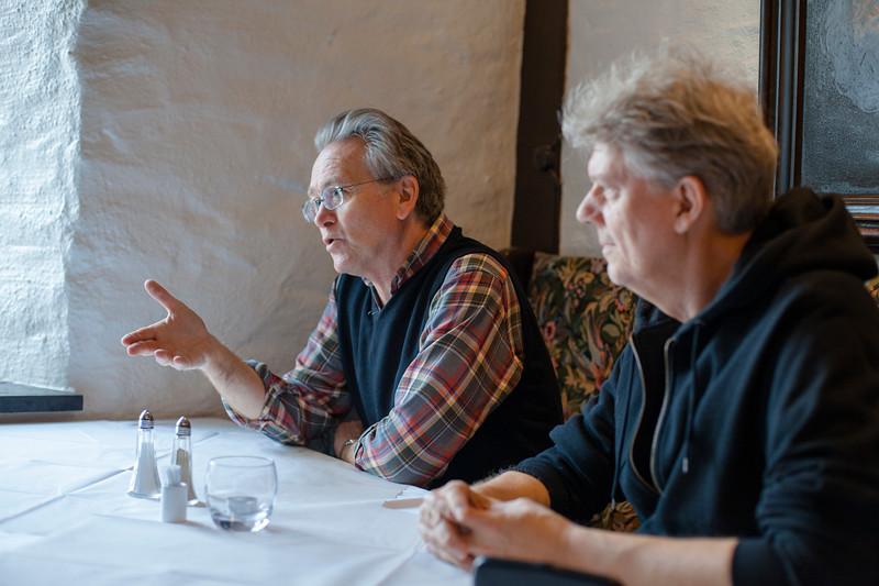 Gunnar Staalesen & Chris Tvedt