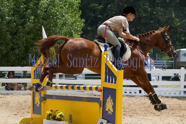 Kelsey Stadium Jumping Cobblestone Horse Trials 2011