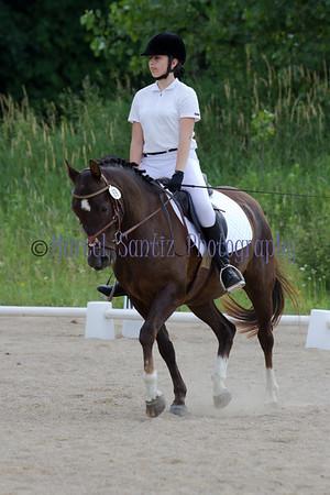Lauren Honey Run Encore Horse Trials 2012 Dressage