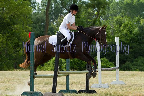 Lauren Honey Run Encore Horse Trials 2012 Stadium Jumping