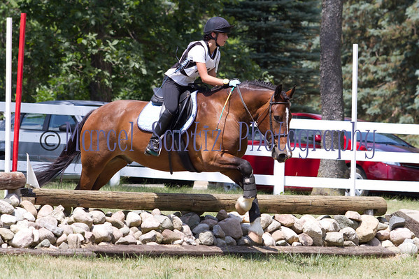 Maddy Cross-Country Cobblestone Horse Trials 2011