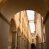 Corridor inside Austria's Melk Abbey.