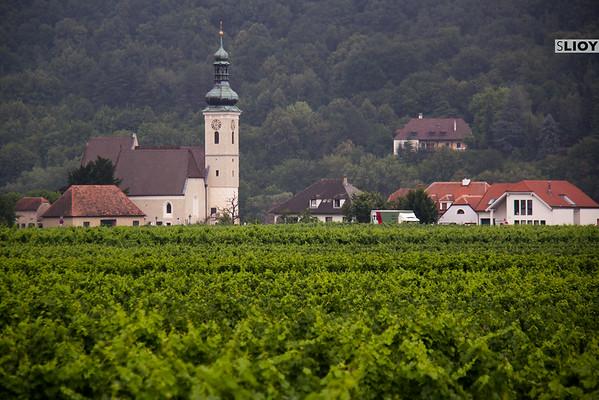 small town in austria's wachau valley