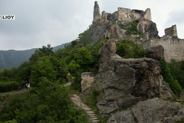 Dürnstein castle wachau austria