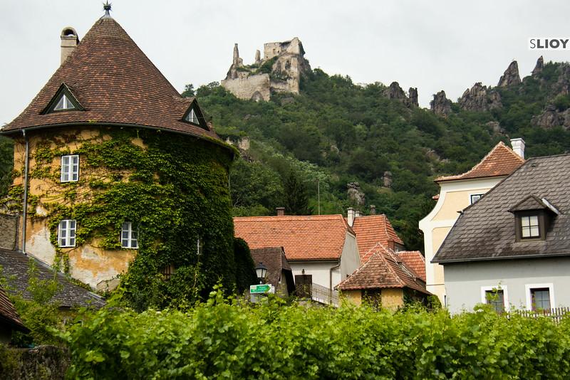 durnstein historic village in austria's wachau valley