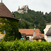 durnstein historic village in austria's wachau valley