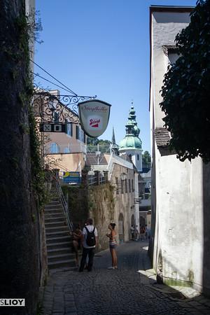 streets of upper salzburg