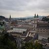 salzburg city panorama