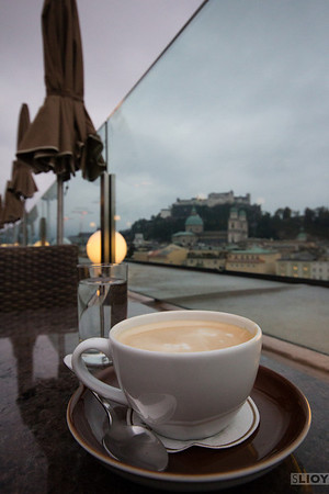 vienna melange coffee in salzburg