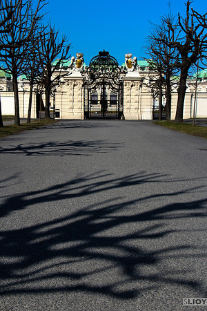 gate of schloss belvedere