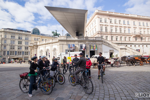 vienna bike group albertina museum