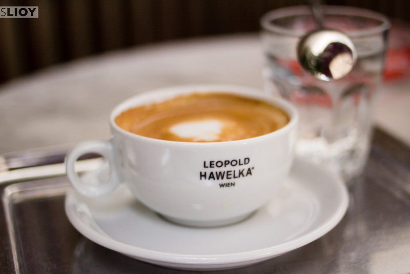 coffee at cafe hawelka