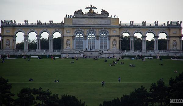 gloriette arch at schonbrunn palace