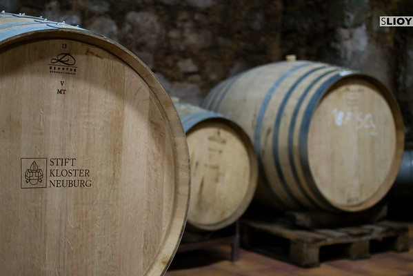 wine barrels from klosterneuburg stift