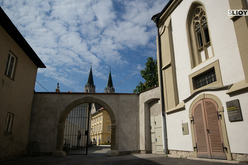 outside klosterneuburg abbey