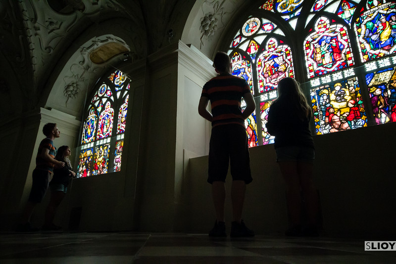 Jess and Kevin at klosterneuburg.
