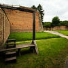 gallows at terezin concentration camp