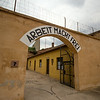 terezin concentration camp sign