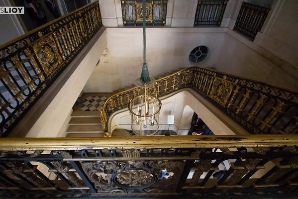 petit trianon staircase