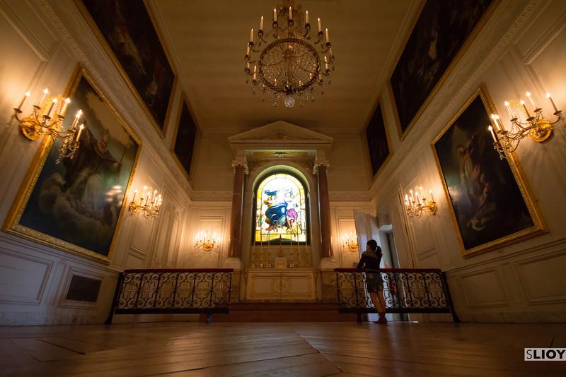 chapel at grand trianon
