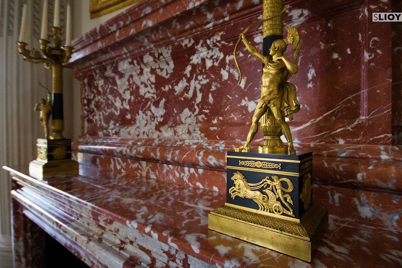 fireplace at grand trianon