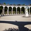 versailles garden colonnade