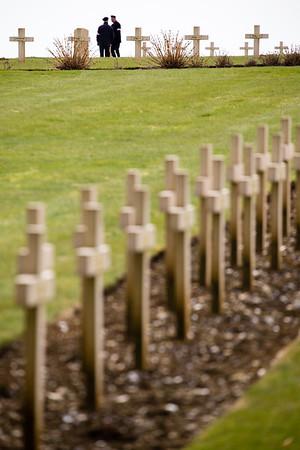 WWI Douaumont cemetery near Verdun, France.