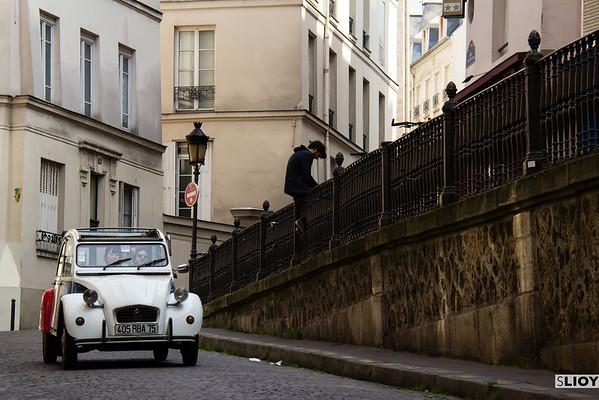 Citroen 2CV Paris