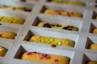 french baking financiers
