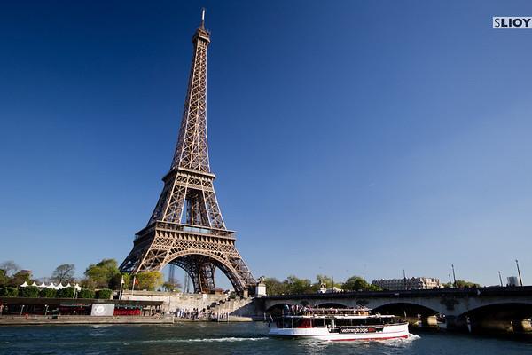 paris seine cruise eiffel tower
