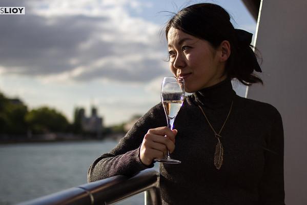 o chateau champagne cruise in paris