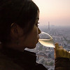 champagne in the montparnasse tower